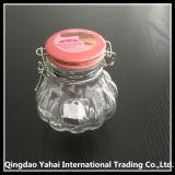 [100مل] زجاجيّة تخزين مرطبان مع غطاء خزفيّة