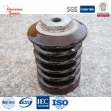 Vendimia de Brown del fabricante de cerámica Línea aislador IEC