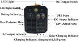 Alimentazione elettrica di riserva portatile di AC-500W di CC 4xusb dell'adattatore universale di potere 500ad-17