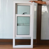 White Color UPVC Profile Up et Down Window coulissante K02039