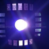 Luz caliente del disco de Rgbwy LED Moonflower para la iluminación de la etapa