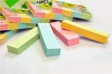 3*3*1/4 Notepad collant de pouce 75GSM avec 4 couleurs légères