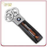 Anello portachiavi chiave di cuoio dell'unità di elaborazione di disegno creativo con il magnete