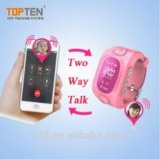 Perseguidor Wt50-Ez del reloj del teléfono celular del GPS del cabrito