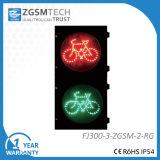 300mm 12のインチの赤い緑LEDの交通標識の自転車