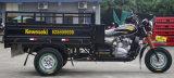3つの車輪の小屋の貨物オートバイかタクシーの三輪車