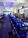 LED 3*3PCS 12W 4in1の回転移動ヘッドビームライト