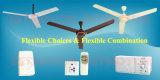 """"""" ventilador de techo de la C.C. de la CA 56 con el motor de cobre incorporado de Battery&Pure"""