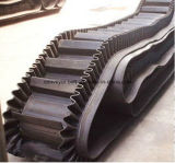 Nastro trasportatore di gomma ondulato per il viale del cemento e dell'impianto minerario