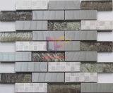 Forma striscia in alluminio con vetro Mosaico (CFM982)