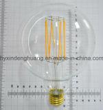 Lámpara de filamento del LED G125 4W E27/B22