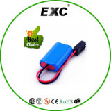 18650 piccolo Lightweight 4000mAh 7.4V Rechargeable Battery