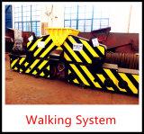 30t@15m de Op rails gemonteerde Mobiele Kraan van de Haven