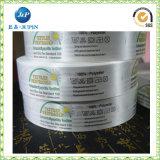 Escritura de la etiqueta de la impresión de algodón de la escritura de la etiqueta de cuidado de la impresión de la ropa de la escritura de la etiqueta que se lava (JP-CL046)