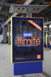 Aluminiumfeld-angeschaltener bekanntmachender heller Solarkasten