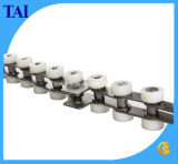 Corrente transportadora com o rolo plástico lateral (40-SR)