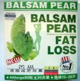 Cápsula natural pura de la pérdida de peso de la pera de bálsamo de las plantas