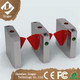 Accéder aux grilles de tourniquet de grille de barrière d'aileron d'acier inoxydable de gymnastique de barrière