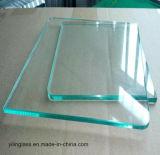 Vidrio plano recocido flotador del claro de la alta calidad con 3m m a 12m m