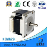 Nema 23/57*57 1.8 grados motor de pasos de 2 fases para la máquina de materia textil