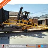 6ton de hydraulische Mobiele Helling van het Dok van de Lading van de Container
