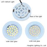 Lumière en aluminium ronde enfoncée DEL blanche de Module d'Embeded