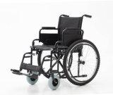 Manual de aço, dobrando-se, cadeira de rodas, (YJ-005C)