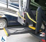 Elevador da cadeira de rodas do Ce Wl-D-880 para Van com plataforma cheia
