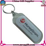 Anello chiave di plastica dell'anello chiave di promozione (m-PK15)