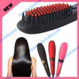 Beauty Star Nasv Hair Straightener Brush with LCD Display