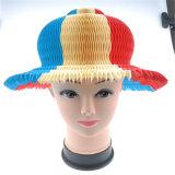 Forma Headwear de papel para o presente da promoção do verão