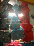 Großhandelsgelb-Polyester-faltbarer Spielraum-Düffel-Beutel 100%