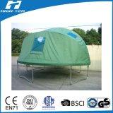 屋外の緑色のトランポリンのテント、トランポリンのための完全なカバー