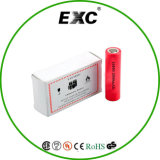 Batterie au lithium 2500mAh de la vente en gros 18650 de batterie 3.7V rechargeable