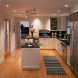 Sólido diseño de madera de arce natural Mobiliario de cocina Gabinete