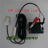 12V 18W LED Green Underwater Submersible Night Fishing Light Crappie Shad Squid Boat