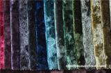 Tessuto italiano della tenda del tessuto del velluto del fiore del ghiaccio del poliestere