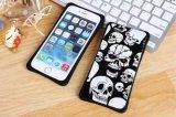 Caso de acrílico de la nueva manera del cráneo para iPhone6