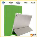 Caixa de couro de 3 dobradores para o iPad (SP-PIA201)