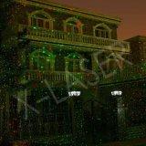 نجم ينجز مهرجان بيتيّة [كريستمست] اللون الأخضر أحمر ليزر [لسر ليغت] خارجيّة