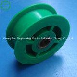 Carrucola di nylon di plastica verde