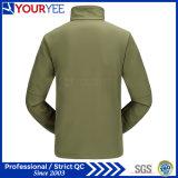 대 고리 (YRK115)를 가진 Mens Softshell 도매 방수 재킷