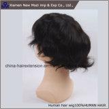 8 pollici dei capelli umani del Toupee del Virgin di Hairpiece dell'essere umano