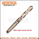O rolo Titanium dos bits de broca M35 da pata do atarraxamento do HSS forjou a broca de torção