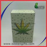 Kleines Zinn, Zigaretten-Satz-Zinn-Kasten, dünner Metallzinn-Kasten