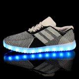 2016년 공장 도매 LED 번쩍이는 단화 운동화 단화 빛