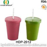 FDA/LFGB biodegradierbare Bambusfaser-Kaffeetasse (HDP-2012)