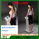Gros analyseur 3 fréquences de l'analyseur Mslca02 de composition corporelle