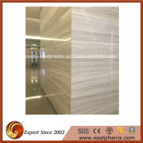 Guizhou Polished Wood Line Marble Stone Tile per Exterior Wall Tile