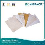 Filtre à manches industriel de Nomex de filtre de la poussière de sachet filtre de dépoussiérage